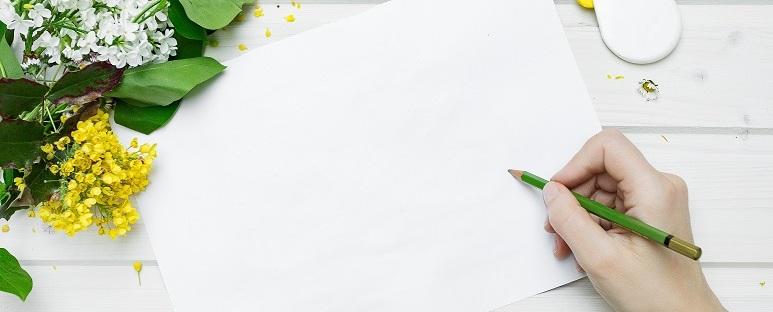 copywriter piszący zdalnie teksty o zdrowiu ekologii slow food